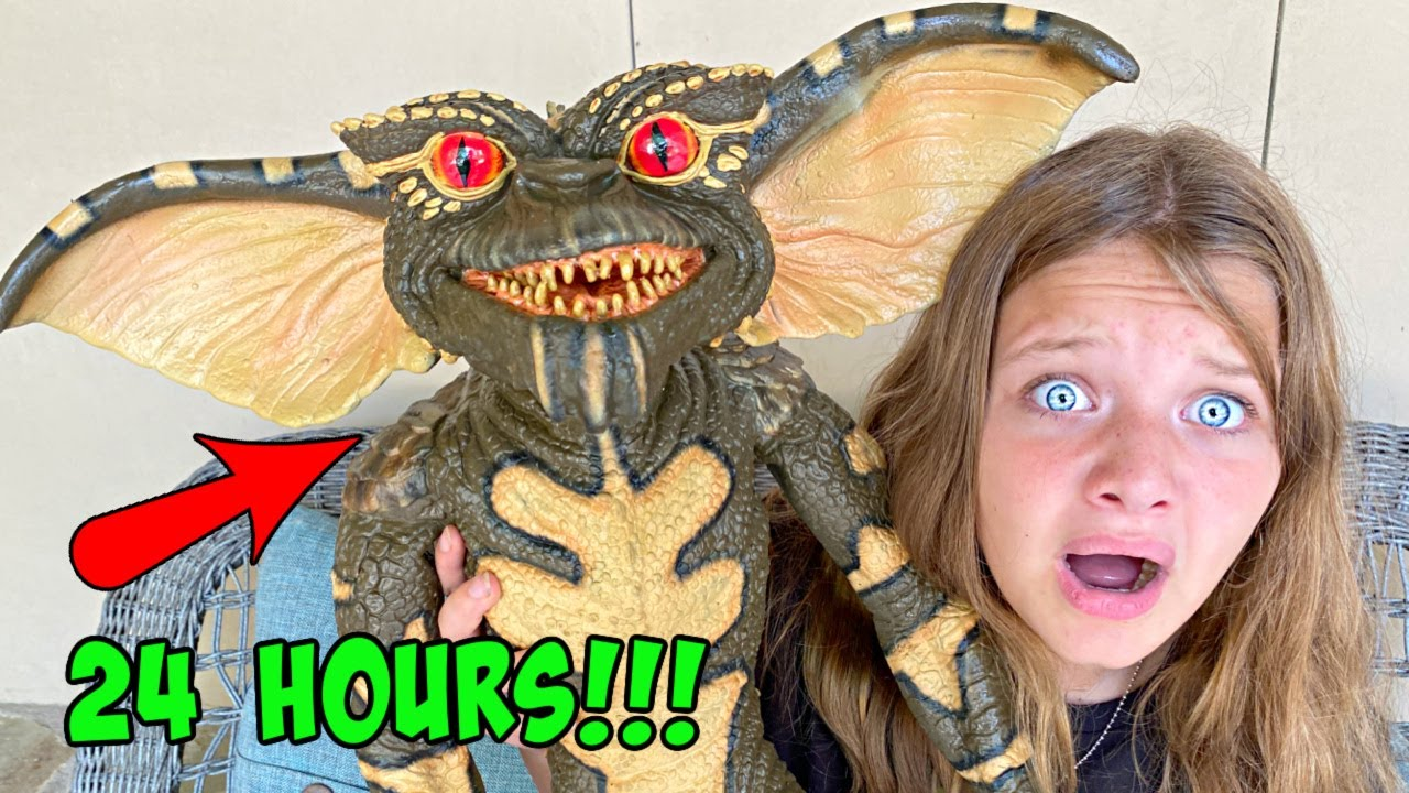24 HOURS BABYSITTING GREMLIN with Aubrey & Caleb! GREMLinS are BACK!