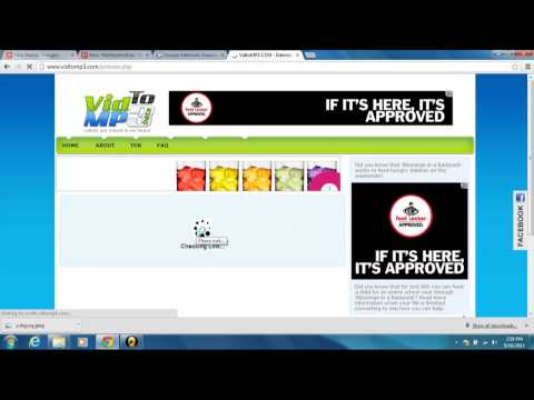 How To Download FREE MUSIC VIDEOS by Converting them into a Mp3