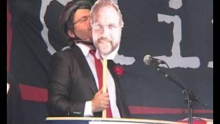 Lars Sponheim blir parodiert av Rune Andersen