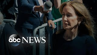 Felicity Huffman gets 14 days in prison for college cheating scam