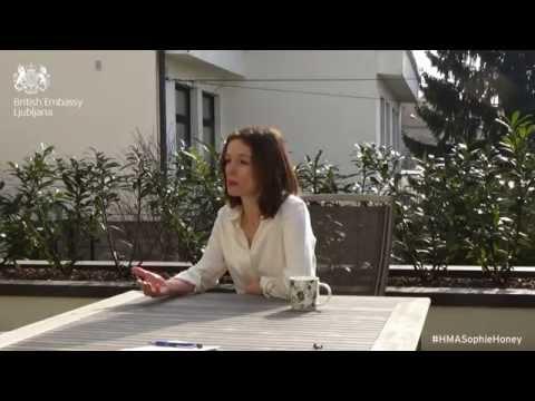 Sophie Honey, the new British Ambassador to Slovenia