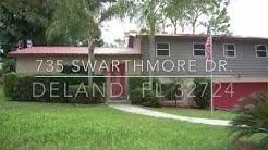 Deland Florida real estate listing. 735 Swarthmore Dr,