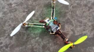 Đo nhiệt độ và độ ẩm trên không bằng thiết bị bay Tricopter