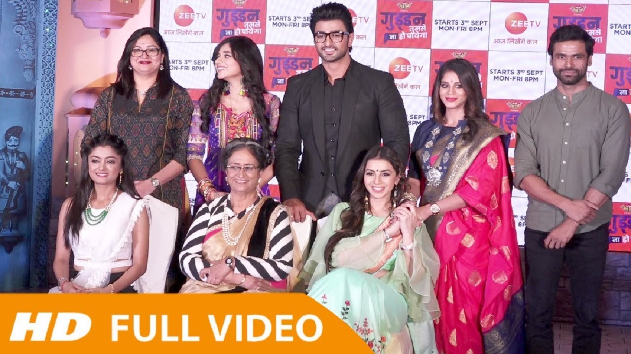 Guddan Tumse Na Ho Payega Zee Tv New Serial 2018 - Full Launch Event HD
