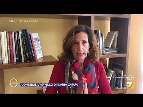 A Omnibus l'appello di Ilaria Capua ai media: 'Misurate le parole, non deve esplodere il panico'