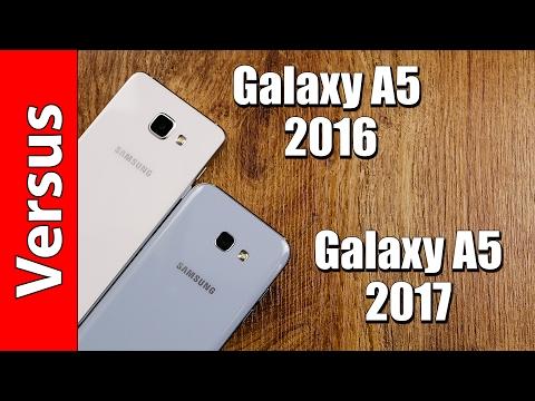 Samsung Galaxy A5 2016 or A5 2017 | in-depth comparison