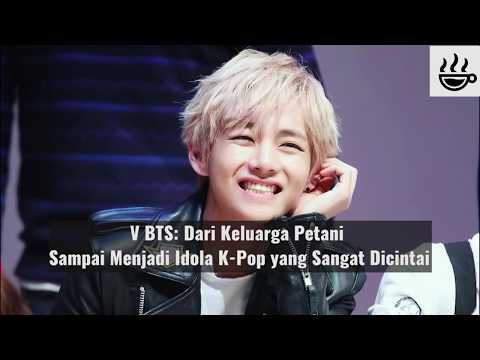V BTS: Dari Keluarga Petani Sampai Menjadi Idol K-Pop yang Sangat Dicintai