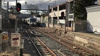【JR奈良線】近ナラ221系NA406編成 みやこ路快速京都行き  玉水到着