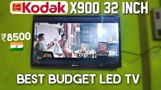 Kodak X900 32 inch Best Budget LED TV Hindi Review 8500