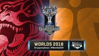 GRX vs FNC – World Championship 2018   Gruppenphase, Tag 4 [GER]