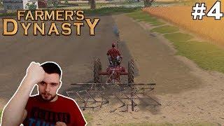 PIERWSZE PRACE W POLU! #4 - Farmer's Dynasty | SWIATEK