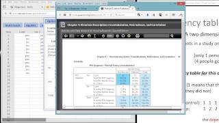 Crosstabulation or Contingency Table Creation in StatCrunch