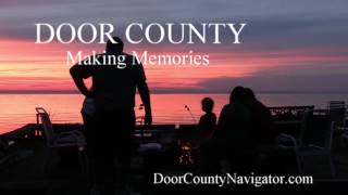 Door County Making Memories | Marshmallow Sunset