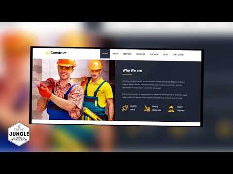 Construct - Construction Building Company HTML Template + Download