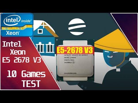 Xeon E5 2678 v3 unlock + GTX 1660 Super - Test in 10 Games.