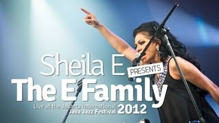 "Sheila E Presents the E Family ""Glamorous Life"" Live at Java Jazz Festival 2012"