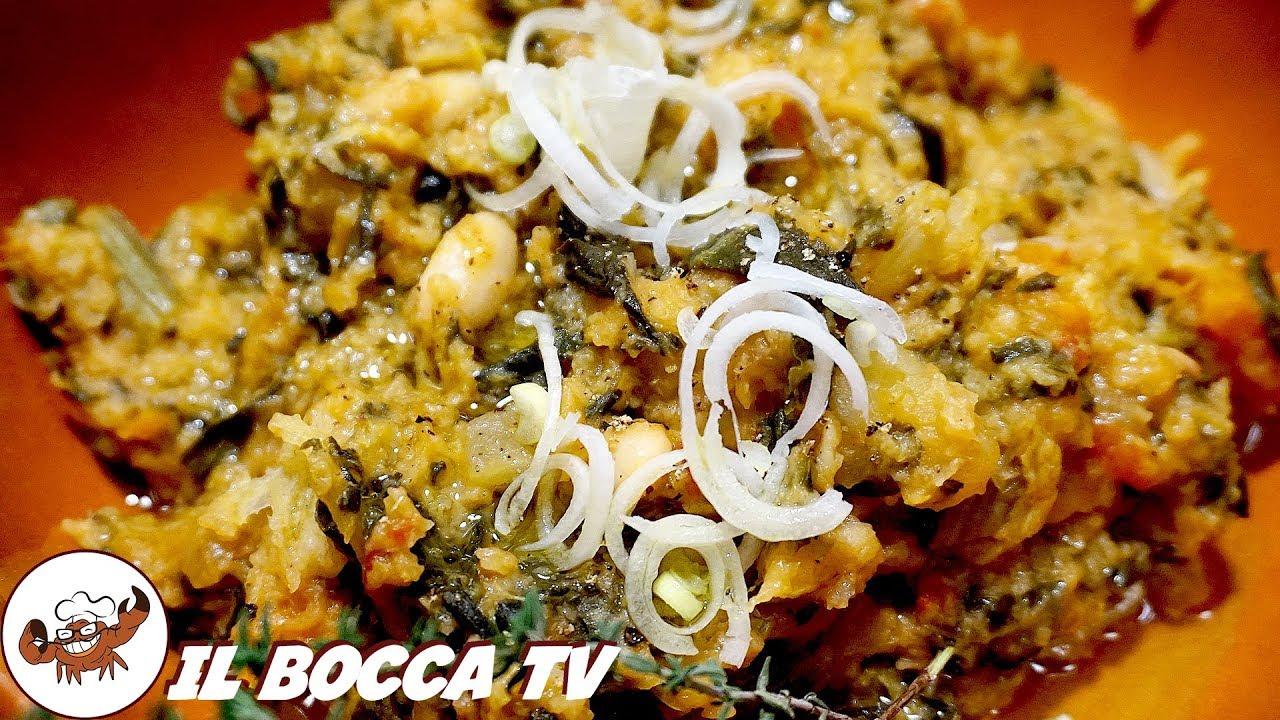 351 - Ribollita toscana   ecco il vero toccasana! (zuppa di verdure tipica  toscana facile e gustosa)
