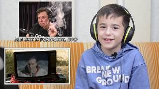 Дети смотрят клипы Rammstein. Реакция детей #1
