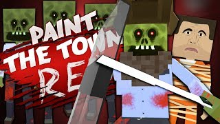 ZOMBIE PRISON RESCUE - Best User Made Levels - Paint the Town Red