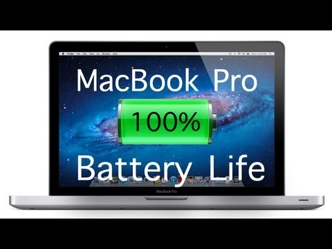 How to Save Macbook Battery Life (HD)