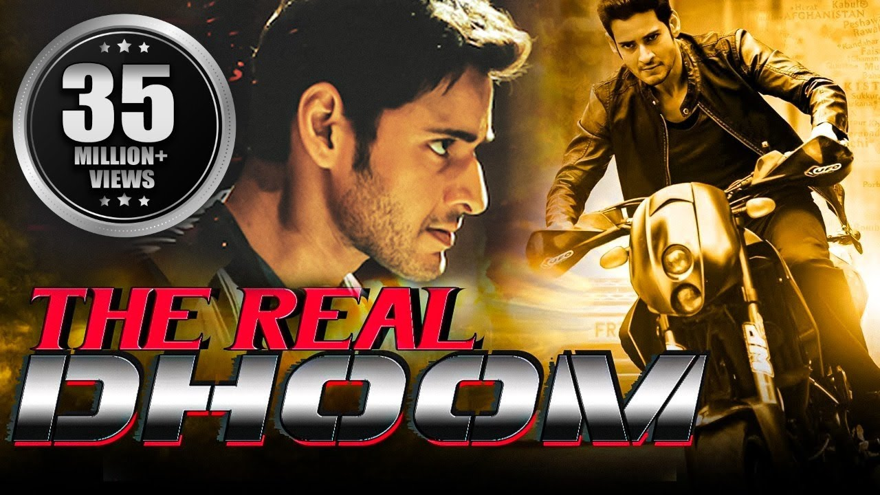 Download The Real Dhoom (2016) Full Hindi Dubbed Movie | Mahesh Babu, Kriti Sanon
