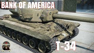 T 34 The Bank of America World of Tanks Blitz