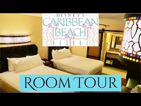 Disney's Caribbean Beach Resort Room Tour! *Aruba Section*