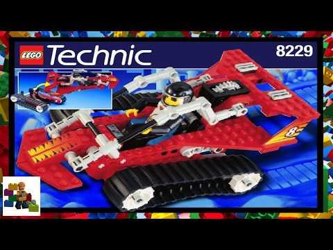 LEGO instructions - Technic - 8229 - Tread Trekker (Book 1)