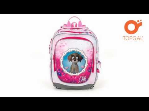 animace - školní batoh TOPGAL ENDY 18017 G - YouTube 89a7a38b6f