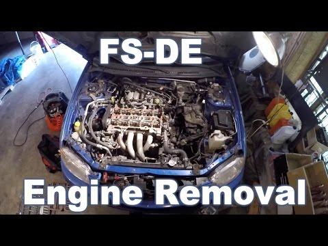 Mazda Protege Engine Removal