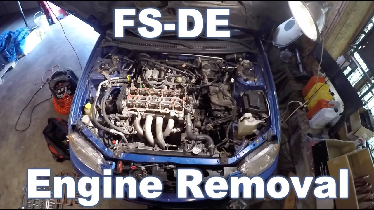 maxresdefault mazda protege engine removal youtube  at edmiracle.co