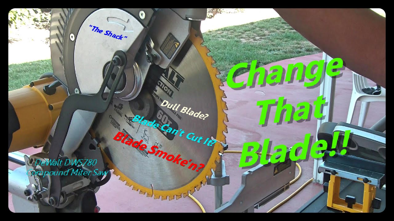 How to install dewalt saw blade images wiring table and diagram how to change a miter saw blade dewalt dws780 miter saw youtube how to change a keyboard keysfo Images