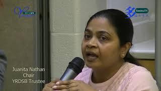 YRDSB Chair, Juanita Nathan, on, COVID-19, 20200210, 約克區教育局主席, 談論, 新冠病毒,事件