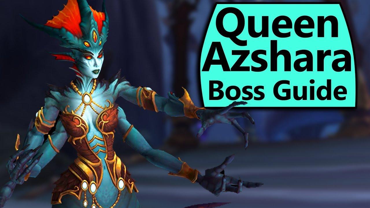 English In Italian: Normal/Heroic Queen Azshara Eternal