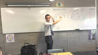 Introduction to Conics (2 of 8: Correlation between 'Whispering Galleries', Circles and Parabolas)