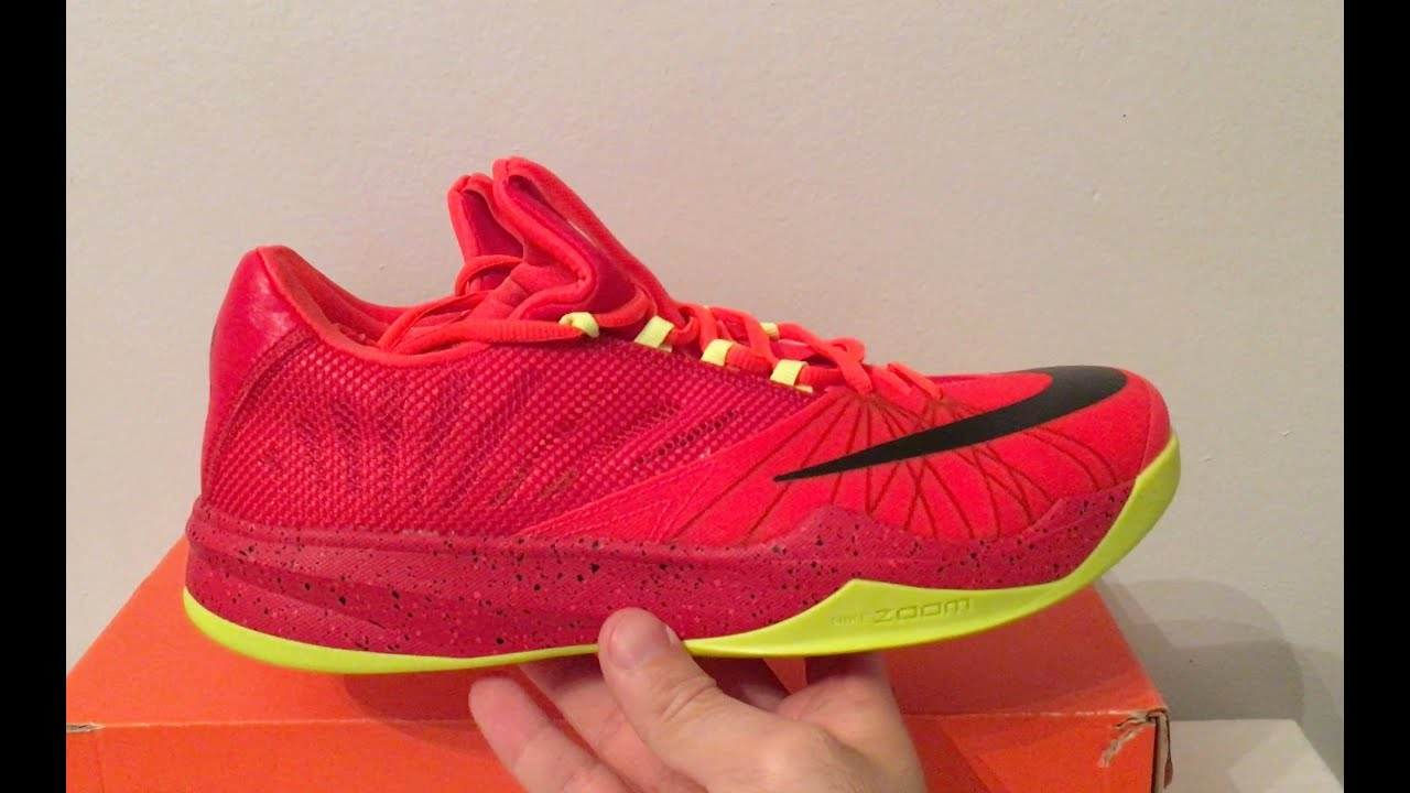 af3b9dff3d055 Nike Zoom Run The One James Harden Sneakers 718018 606 - YouTube
