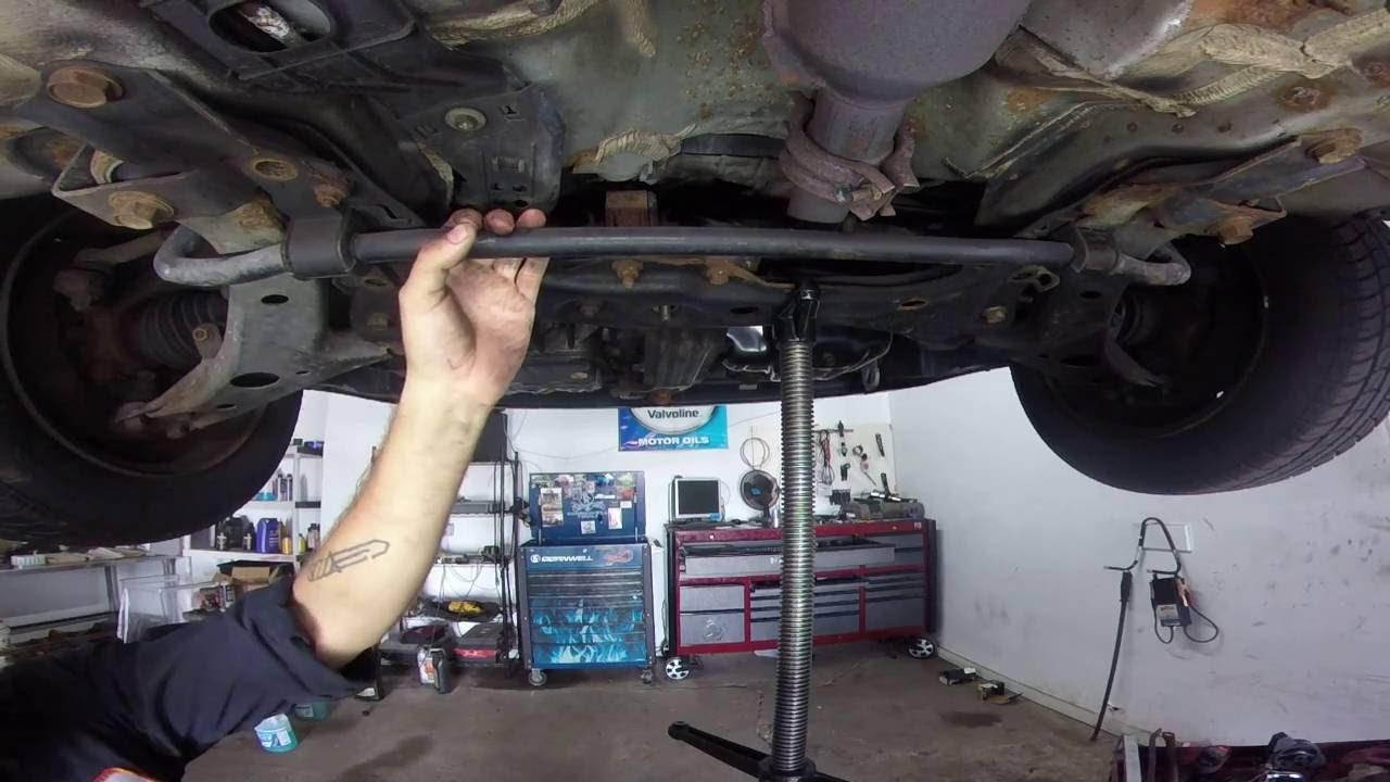 01 toyota corolla rear engine mount 18L  YouTube