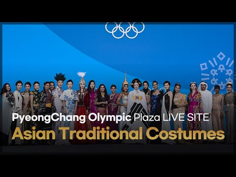 PyeongChang Olympic Plaza LIVE SITE 'Asian Traditional Costume Show' video