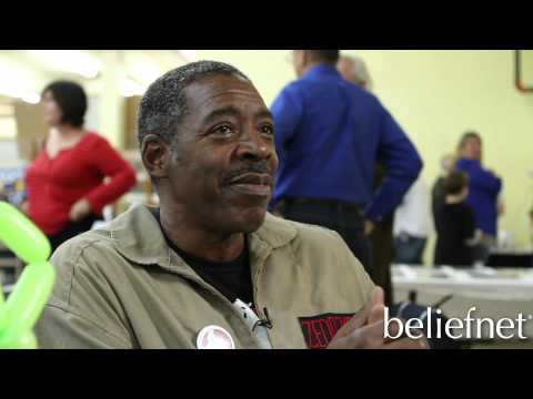Ernie Hudson Interview #4 - The Bible & Portraying Simon Peter