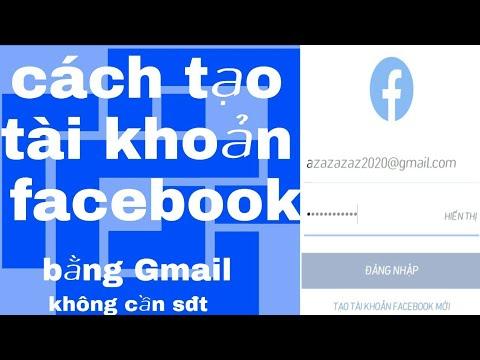 Hướng dẩn tạo facebook bằng gmail ||không cần số điện thoại đơn giản nhất