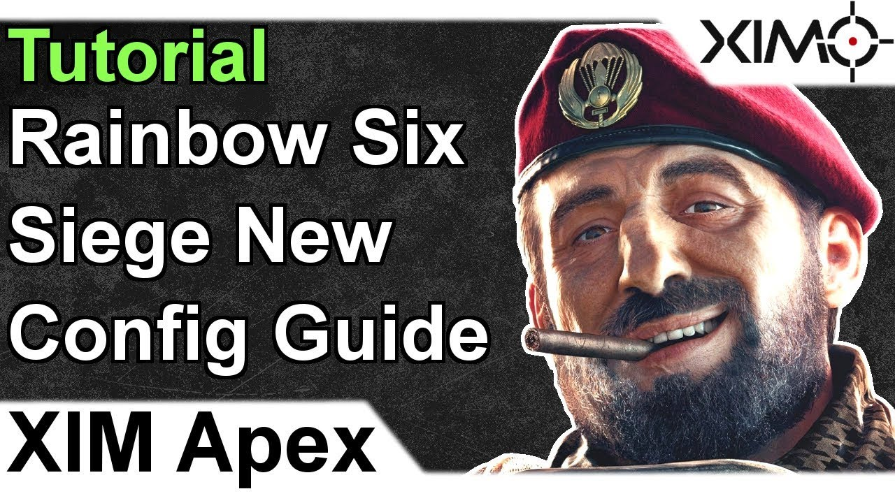 XIM APEX - Rainbow Six Siege Updated Config Tutorial (Classic Curve)