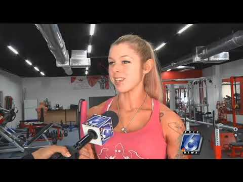 Local female body builder doesn't let disability crush her dreams
