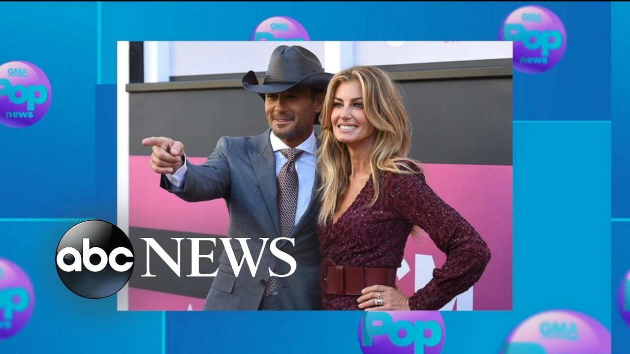 Country music couple Tim McGraw and Faith Hill share marriage secrets