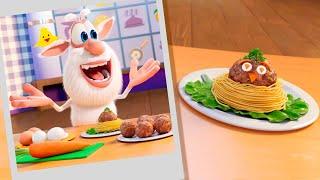 Буба - Шеф повар! 🐭 Фрикадельки 🍜🧆 Смешной Мультфильм 2020   Мультики🍜🧆