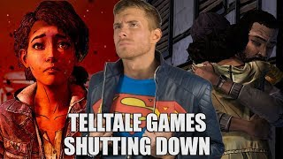 TELLTALE GAMES SHUTTING DOWN - WALKING DEAD CANCELED - What We Can Learn | SK Reacts - #DailyTrend