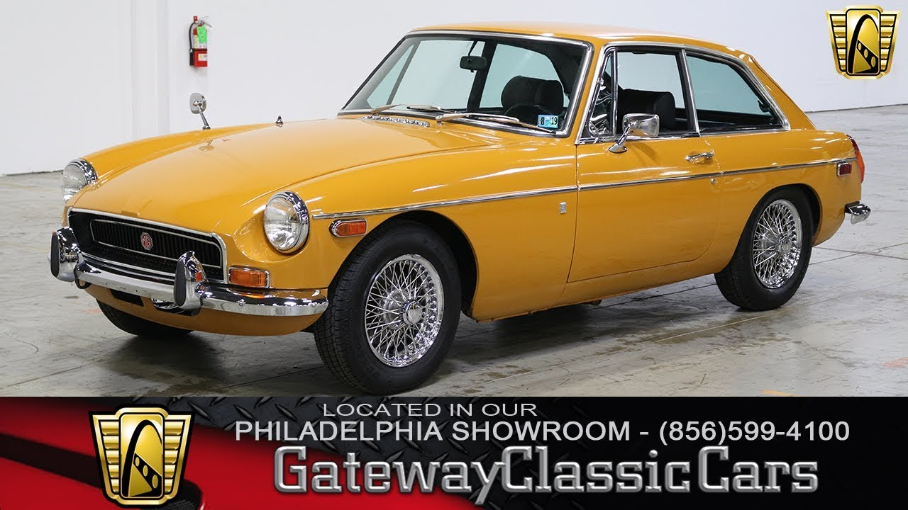 1971 71 MGB GT Coupe