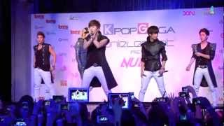 [121026] NU'EST - Not Over You (Singapore ShowKase)