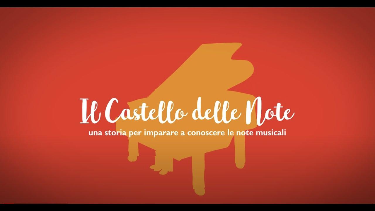 Il castello delle note amav youtube for Note musicali dwg