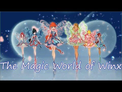 Winx Club~ The Magic World of Winx (Lyrics)
