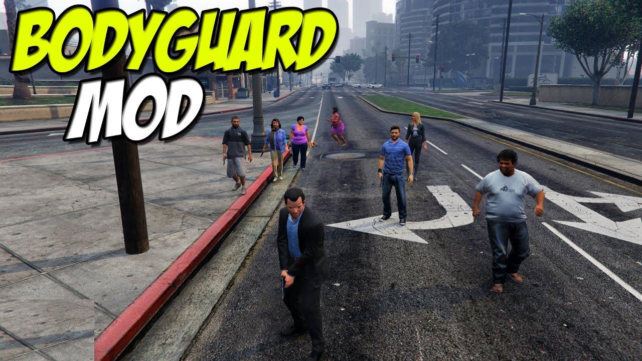 Grand theft auto online mods